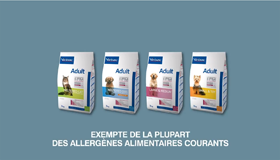 Faible source d'allergie alimentaire